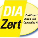 Zertifiziert durch DIAZert
