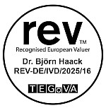 Recognised European Valuer Dr. Haack