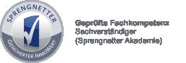 Logo geprüfte Fachkompetenz Sachverständiger